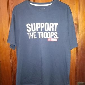UNDER ARMOUR T-SHIRT 👕 Support The Troops XL
